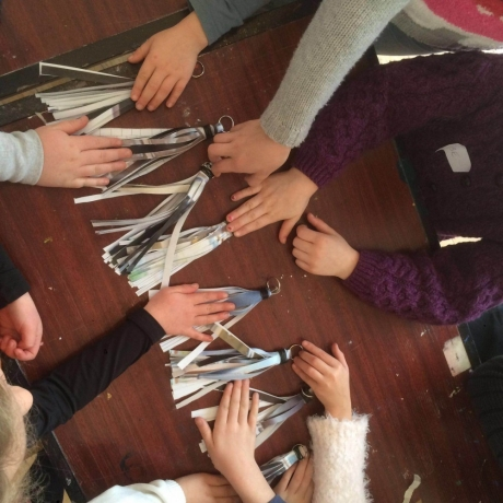 Family Day workshops at the National Craft Gallery - Spring 2017